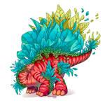 Stegosaurus by Elevator1337
