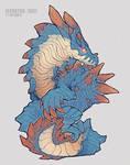 Lagiacrus [Monster Hunter] by Elevator1337
