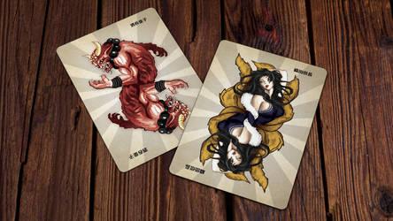 Heroes of Japan Playing Cards - Jokers