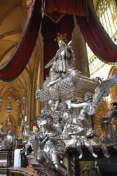 Sculpture Inside St.Vitus Catedhral