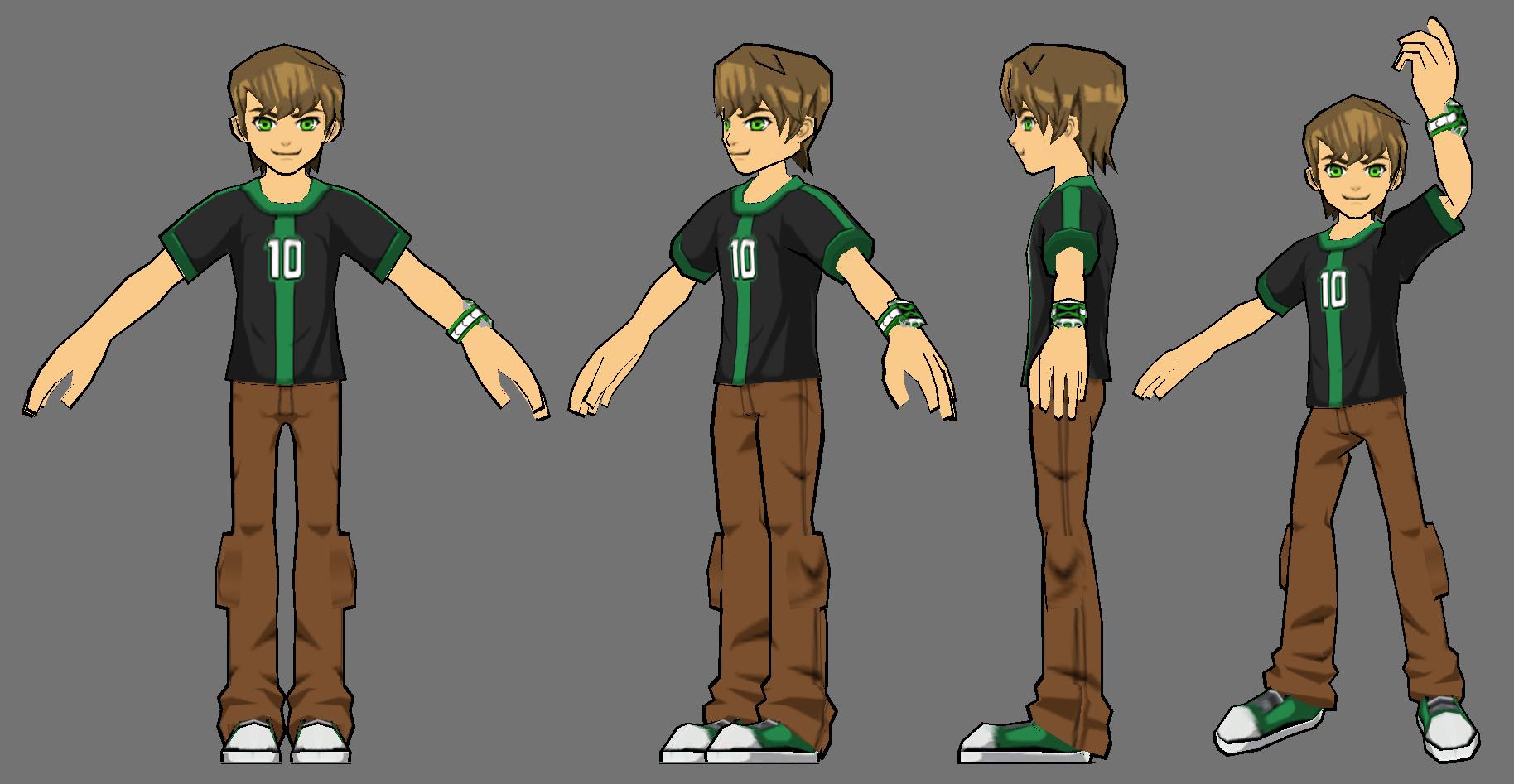 Ben 10: Omniverse Teen Ben Model by FusionFallCreations
