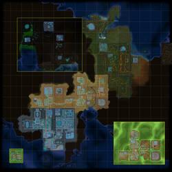 FusionFall Map