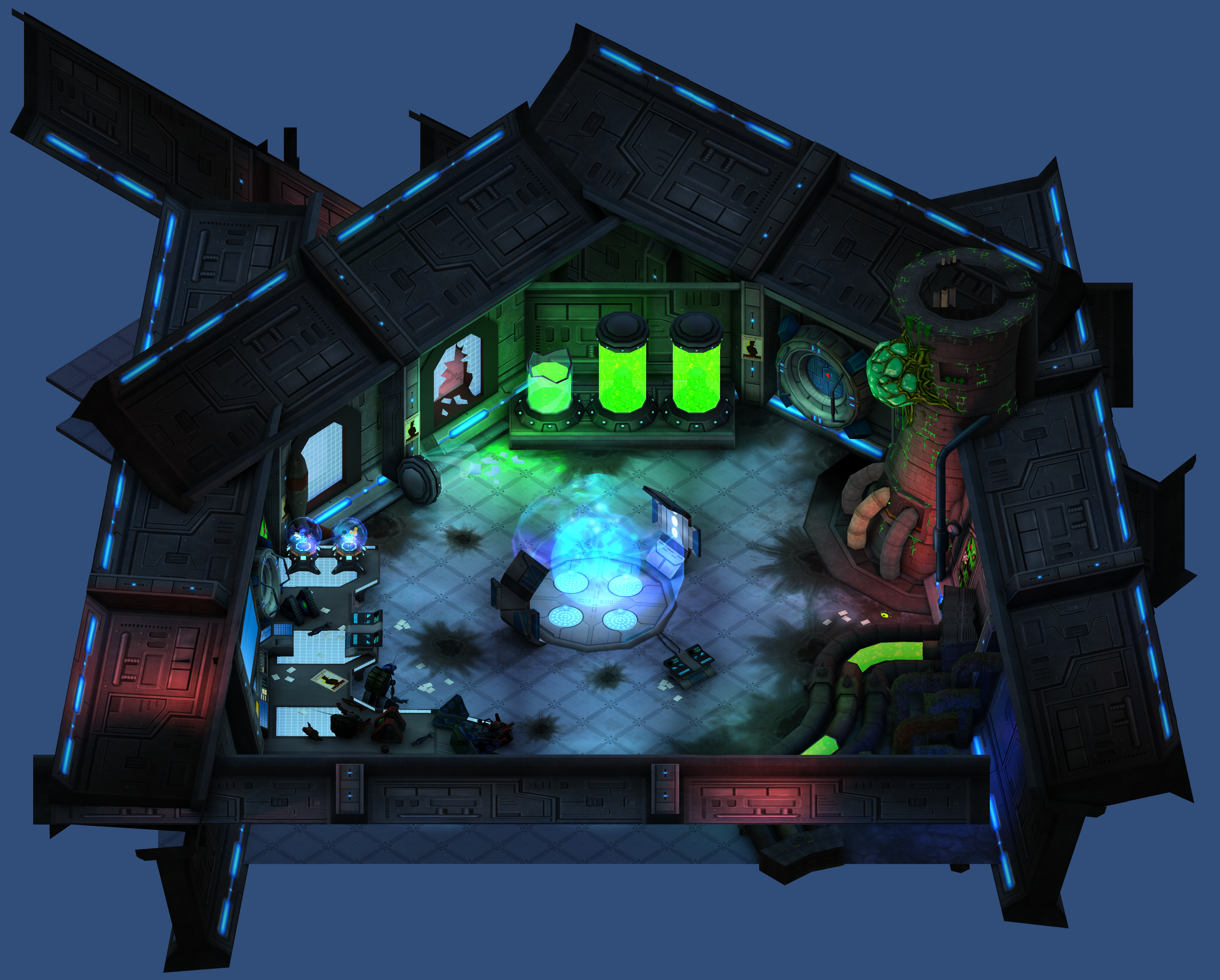 FusionFall Heroes: DexLabs by FusionFallCreations