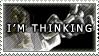 Thinker Stamp by Lisiu