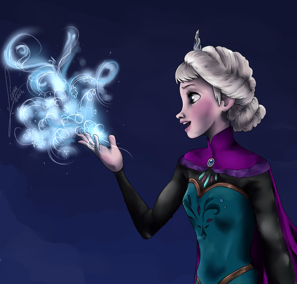 Elsa by Lisiu