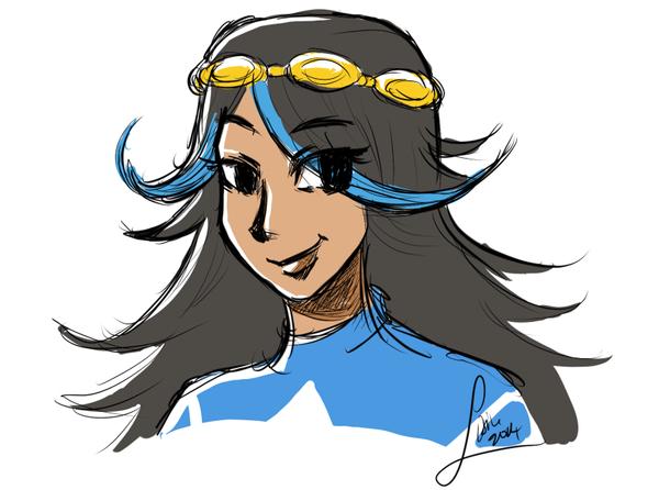 Aqua Admin Shelly by Lisiu
