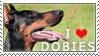 Doberman Stamp by chinarose93