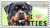 Rottweiler Stamp by chinarose93
