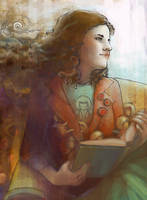 The Reader by Adelaida