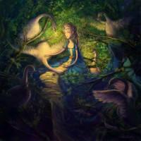 Six Swans by Adelaida