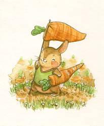 Carrot Parade by Adelaida