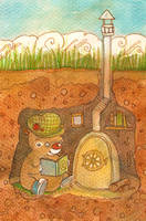 Book worm by Adelaida