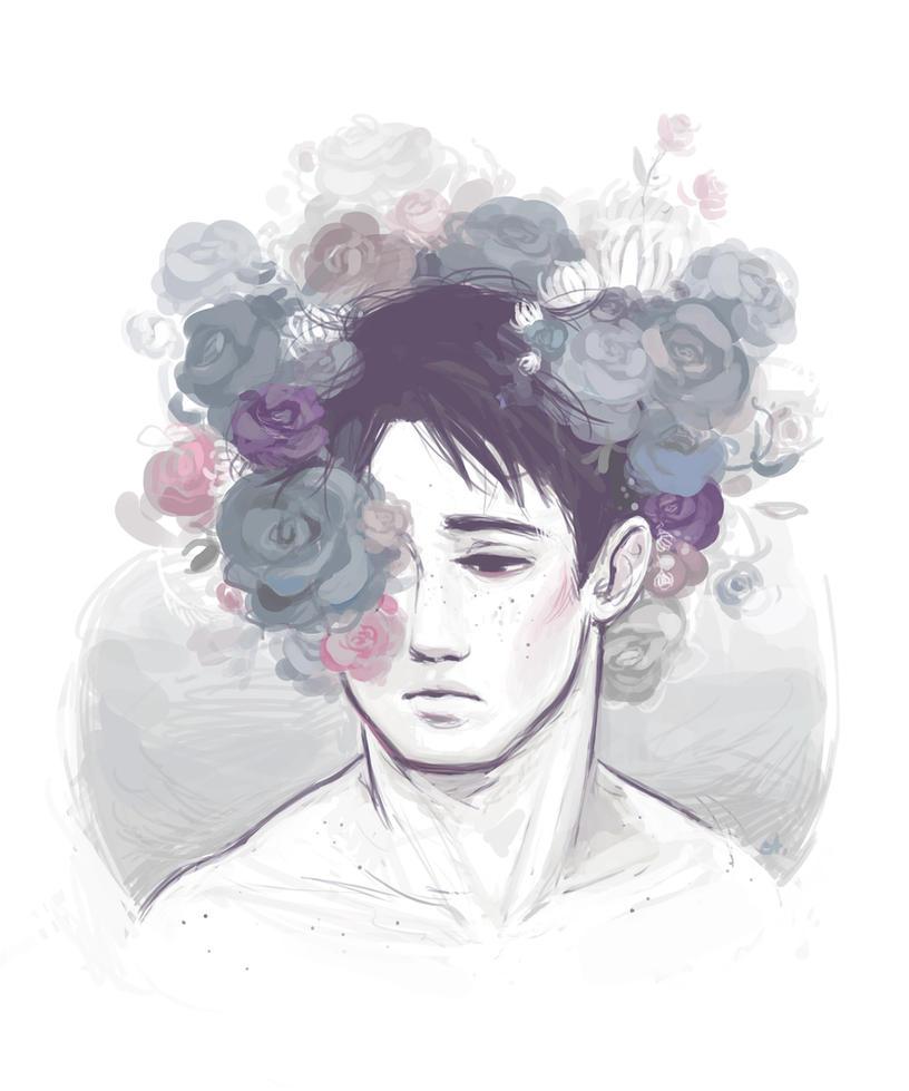 Flower Crown Marco by Adelaida on DeviantArt