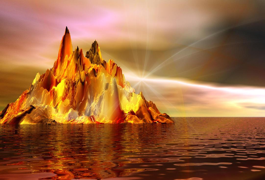 On The Deep Red Sea by Joe-Maccer