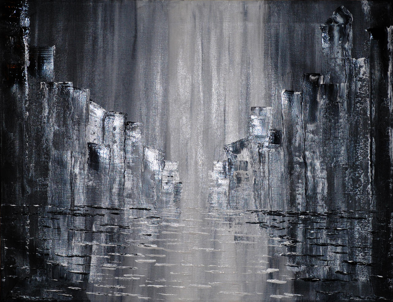 A Rainy Night by Joe-Maccer