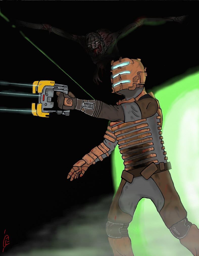 Dead Space by comicbookpayne