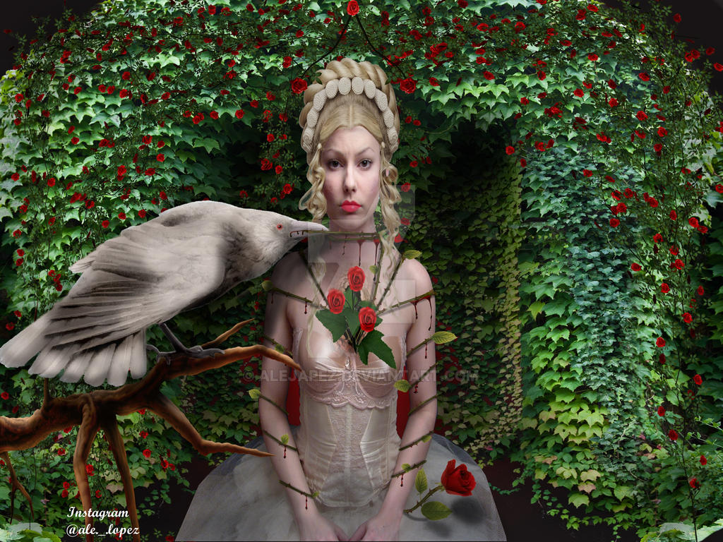 Jardin de rosas by alejapez on deviantart for Art jardin neufchateau