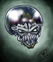 Biting Bubblehead Sea Monkey Alien Head by BungZ
