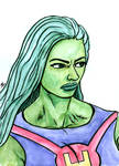 She-Hulk Watercolor