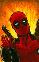 Deadpool Explosion by BungZ