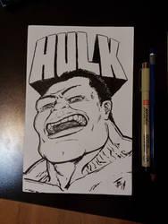 Hulkl Sketch by BungZ