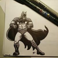 Batman Sketch 2 by BungZ