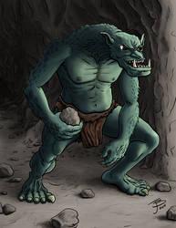 Rock Throwing Troll by BungZ