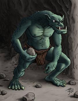 Rock Throwing Troll