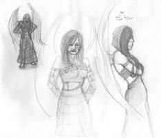 vampire angel? sketch