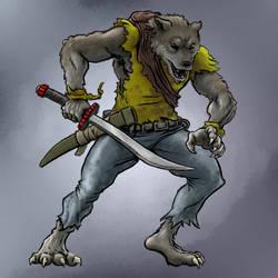Werewolf Hybrid Form