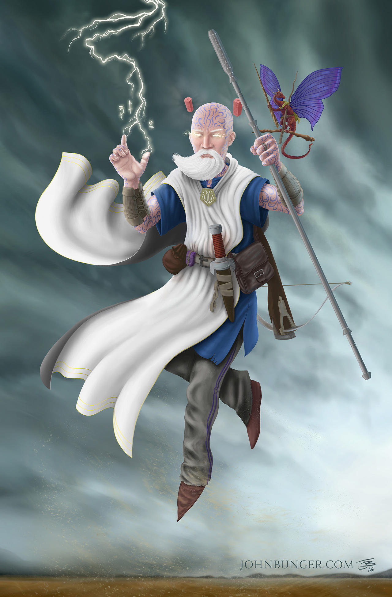 Gaan, Sylph Air Wizard by BungZ