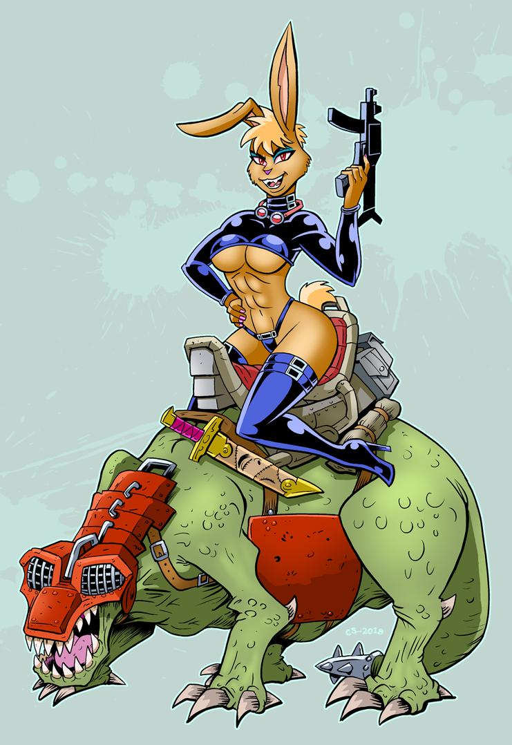 Bunny Cavalry by LavaBatA1