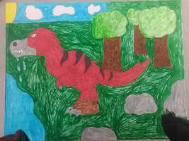 juvenile T,Rex (art project)
