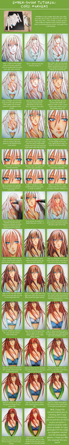 TUTORIAL: Copic Markers