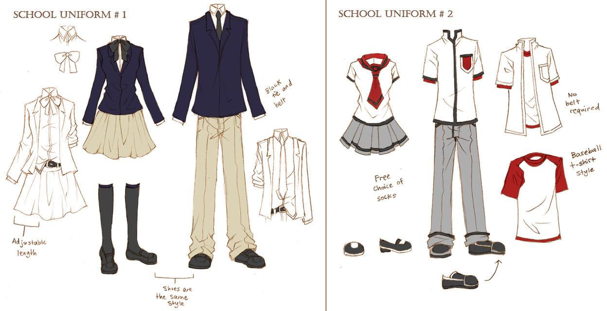 Solstice school uniforms by ember snow on deviantart for School blueprint maker