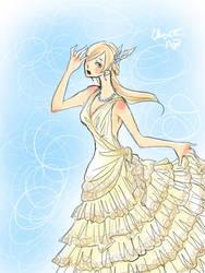 DESIGN: Wedding Dress by ember-snow