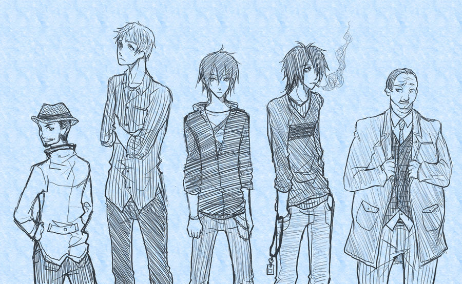 SINNERS Brand: Boy's Fashion by ember-snow on DeviantArt