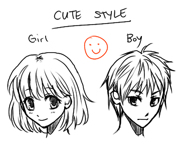 How To Draw Anime Cute Style By Ember Snow
