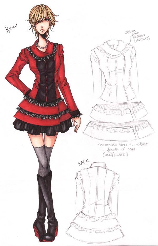 2013 Spring Fashion Show - Kasie Design ILLUST. by ember-snow