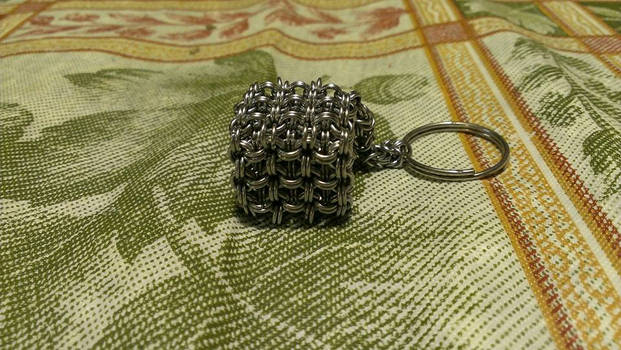 Stainless Steel Chainmaille Cube