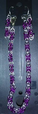 Byz AA Earring Bracelet set