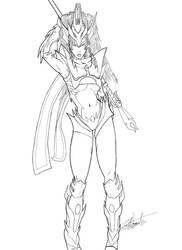 Dragoon Rikku Redux by Zatch