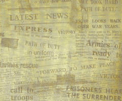 Old Newspaper Texture by powerpuffjazz