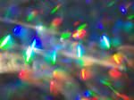 Scattered Hollographic Bokeh