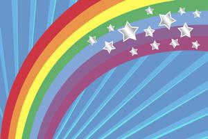 Rainbow Stars Texture by powerpuffjazz