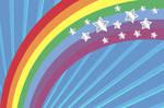 Rainbow Stars Texture