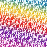 Happy Bday Rainbow Texture1 by powerpuffjazz