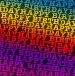 Happy Bday Rainbow Texture2