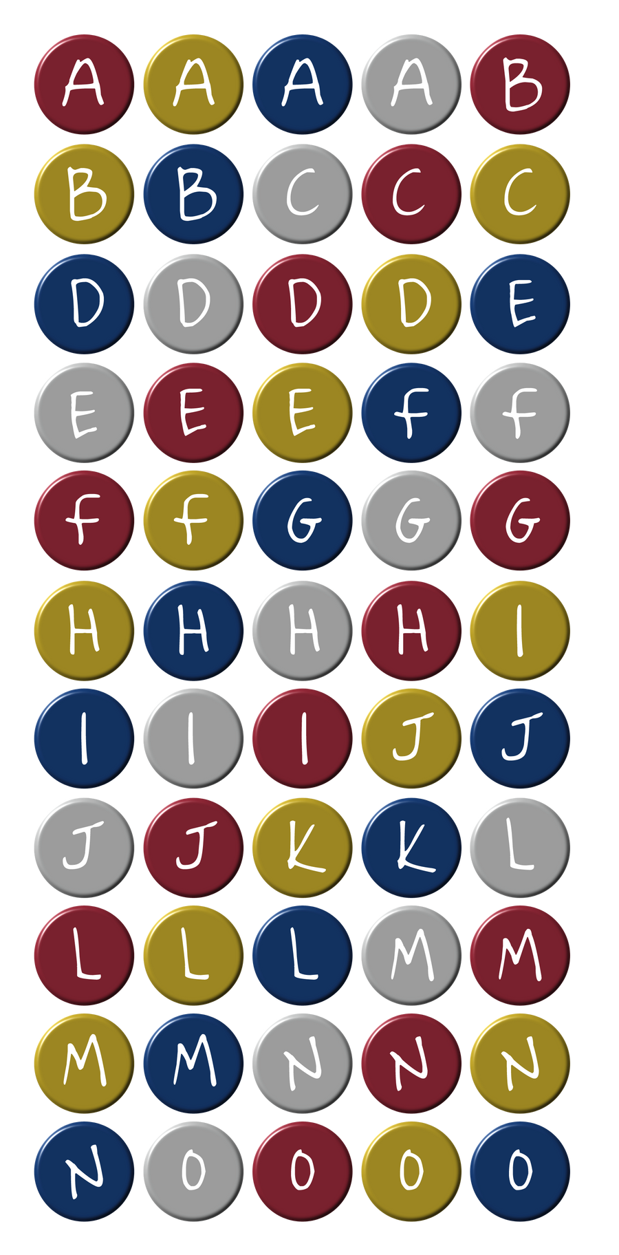 coloured circle letters part1 by powerpuffjazz coloured circle letters part1 by powerpuffjazz