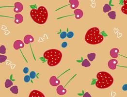 Berries Pattern by powerpuffjazz
